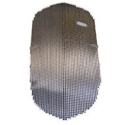 Chevrolet Chevy Gmc Truck Grille / Grill Blank Insert Stainless 1934-1935