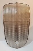 Chevrolet Chevy Gmc Truck Grille / Grill Insert Assembly Stainless 1936