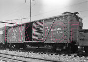 Wellsville, Addison Andgaleton Wag Outer Braced Boxcar 5260 - 8x10 Photo
