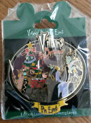 Villains Christmas Event Maleficent Raven Disney Paris Le 900 Dlrp Dlp Jumbo Pin