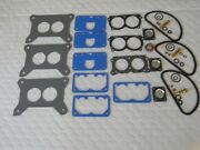 Holley/mopar Direct Connection Carb Rebuild Kit For 3 X 2 Three Kits