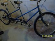 Vintage Schwinn Single Speed Tandem Bicycle Early And03970s.andnbsp W/new Parts