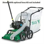 Billy Goat Multi-surface Leaf And Litter 27and039 Push Vacuum 190cc Briggs Kv601