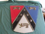 1950and039s Ford Dealership Showroom Crest Sign