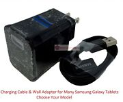 Home Charger Cable Cord With Wall Adapter For Samsung Galaxy Tab Plus 1 2 3 Note