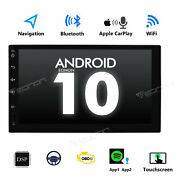 Us Stock 7 Double Din Lcd Car Stereo Android Radio Fm Usb Sd Aux Head Unit Gps