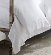 1900 New In Package Sferra Giza 45 Sateen 1840 King Duvet Cover Ivory 106 X 92