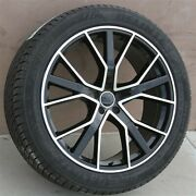 4new 19x8.5 5x112 Wheels And Tires Pkg For Vw Jetta Passat Gti Rs Audi A3 A4 S4