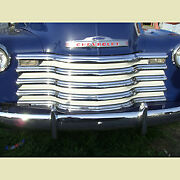 Chevrolet Chevy Grill / Grille Chrome Bars Ivory Inner 1/2 3/4 1 Ton 1947-1953