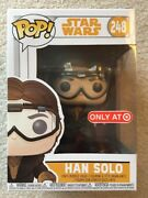 Funko Pop Star Wars Solo 248 Han Solo Target Excl. W/protector