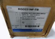 Thomas And Betts 30a 240v General Duty Enclosed Safety Switch Rgd221nf-tb Box Of 5