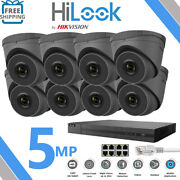 Hikvision Hilook 8mp System 4ch 8ch Nvr Ip Poe Cctv 5mp Camera Network Kit