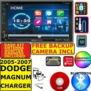 05-07 Dodge Magnum Charger Bluetooth Cd/dvd Usb Aux Stereo W/ Free Backup Camera
