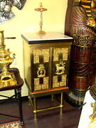 Tabernacle Beautiful Vintage Circa 1800and039s Brass Tabernacle