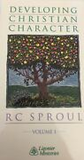Developing Christian Character By Rc Sproul Vol 1 Vhs-tested-rare-ship N 24 Hour