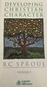Developing Christian Character By Rc Sproul Vol 3 Vhs-tested-rare-ship N 24 Hour