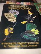 Holidays In Stained Glass 46 Fullsize Project Patterns By Phyllis Marks