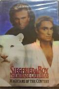 Magicians Of The Century The Siegfried And Roy Dvd-very Rare Vintage-ships N 24 Hr