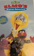 Sesame Street-elmoand039s Musical Adventurethe Story Of Peter And The Wolf Vhsrare