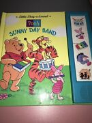 Winnie The Pooh Sunny Day Band Play-a-sound Book Vintage Collectible Rare