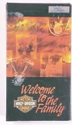 Harley Davidson - Welcome To The Family Vhs 99440-02 Slightly Used
