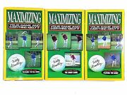 Wally Armstrong Maximizing Your Game Volumes 1 2 And 3 Vhs Tapes-very Rare-ship2h