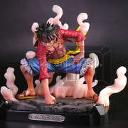 One Piece Model Palace Monkey D. Luffy Gear Second Figure Resin Statue 2018 New