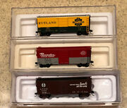 Premium N Scale Box Cars, Gondolas And Hoppers - Atlas Master, Fvm And Blma