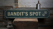 Dog Spot Sign Wooden Dog Decor -distressed Wooden Sign
