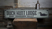 Duck Hunt Lodge Sign, Duck Hunter Gift -distressed Wooden Sign