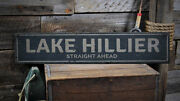 Lake House Sign Lake Decor -distressed Wooden Sign