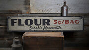 Flour Sign Custom Mercantile Sign -distressed Wooden Sign
