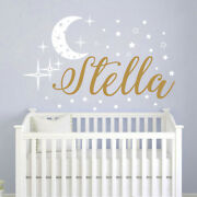 Name Wall Decals Baby Nursery Decal Girl Name Nursery Stickers Vinyl Decal S111