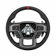 Ford F-150 Raptor Oem Heated Leather Steering Wheel With Red Stripe Accent