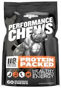 Bully Max Chews Muscle Building Supplement For Puppies And Adult Dogs Andmdash 60 Chews