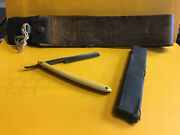 Old Vtg Primus C.friedr Ern 560 Wald Germany With Box And A Leather Strop