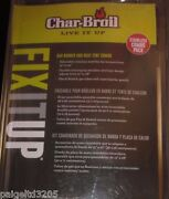 Char-broil Adjustable Stainless Steel Combo Grill Replacement Pack/parts 15-22
