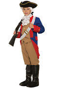 Brand New Patriotic Soldier Colonial Revolutionary War Child Costume Small