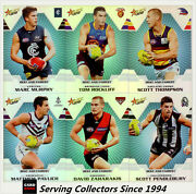 2012 Select Afl Champions Trading Cards Holochrome Best And Fairest Full Set 17
