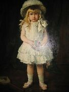 Antique American Victorian Tomboy Well Listed Blond Beauty Girl Wfavorite Toy