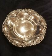 Vintage Fb Rogers Ornate Silver Plated Centerpiece Bowl Made In Spain 12