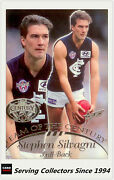 1996 Select Afl Hall Of Fame Team Of The Century Platinum Tc3 S'silvagnicarl
