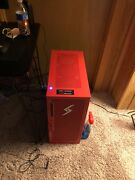 Gaming Pc With Desk And Chair Mouse And Keyboard