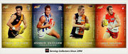 2013 Select Afl Champions Holochrome Best And Fairest Card Full Set 18