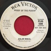 Proof Of The Puddin' Color Wheel / Flyin High Psych Promo 45 Rca 9332