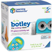 Learning Resources Stem Botley The Coding Robot Activity Set 77 Piece New