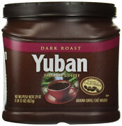 Yuban Coffee Dark Roast Ground 24-ounce Plastic Can 2 Cans Date March 2020
