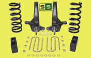 01-10 Ford Ranger 2wd 6/ 4 Lift Kit 4 Cyl Spindles/coil Springs/lift Blocks