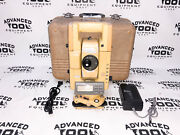 Topcon Gts-304 Total Station Transit W/ Case New Charger And Battery