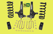 01-10 Ford Ranger 2wd 6/3 Lift Kit 6 Cyl Spindles / Coil Springs / Lift Blocks